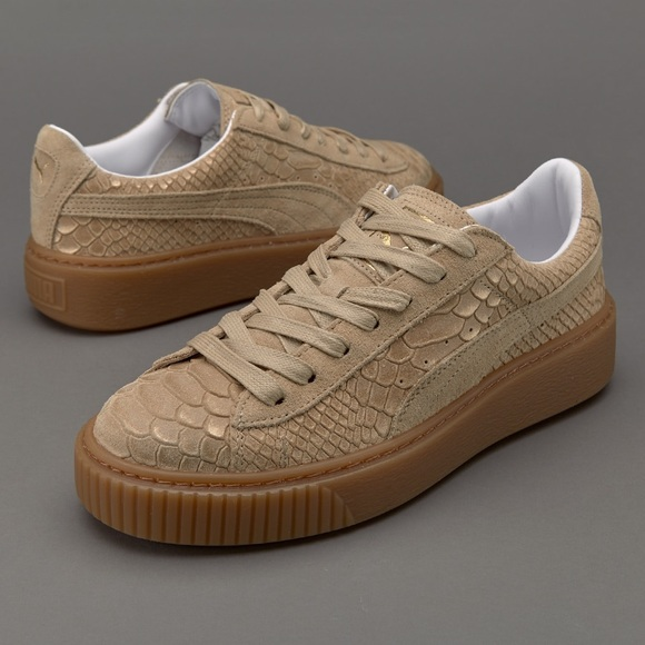 Puma Shoes | Puma Platform Exotic Skin